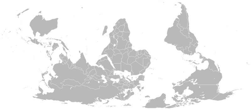 Blank map world south up human wrongs watch 180 degree rotated map of the world released into the public domain by its author vardion wikimedia commons gumiabroncs Images
