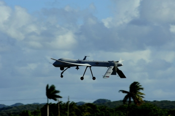 "A US Air Force RQ-1 Predator unmanned aerial vehicle. Photo: US Department of Defense/James L. Harper Jr. | Source"" UN News Centre"