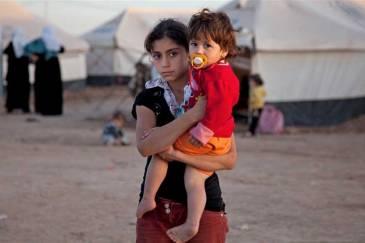 More than half a million people have fled Syria for neighbouring countries, even Iraq (Domiz camp, Kurdistan region, Iraq). Photo: Jodi Hilton/IRIN
