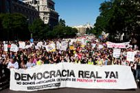 Demonstration in Madrid | Author: Olmo Calvo | Wikipedia Commons