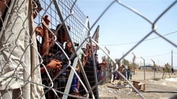 *****Photo: Emma Beals/IRIN | Many displaced Iraqis are struggling to get into Kurdistan