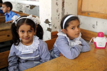 In Gaza, the first two weeks of school will focus on providing psychosocial support for UNRWA's students. Photo: UNRWA Archives/Shareef Sarhan