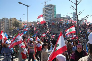*Image: Protests in Beirut | Author: Shakeeb Al-Jabri | Wikimedia Commons