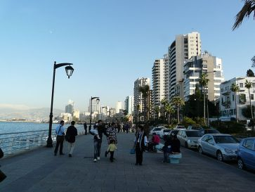 **Avenue de Paris promenade known as Corniche Beirut | Author: Varun Shiv Kapur from Berkeley, United States | Wikimedia Commons