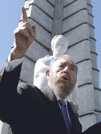 Fidel Castro, Monumento a José Martí, Habana, Cuba | Photo: Agência Brasil, a public Brazilian news agency | Wikimedia Commons