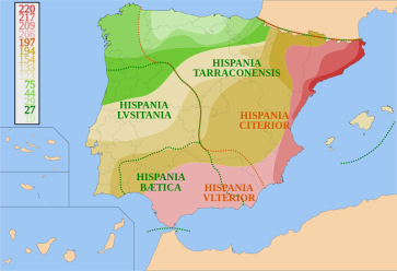 **Image: Roman conquest of Hispania | Author: HansenBCN | Wikimedia Commons
