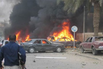 The aftermath of a bombing attack in Iraq (file photo). Photo: IRIN