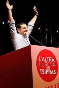 "**Image: ""Alexis Tsipras"" by Lorenzo Gaudenzi - Own work. Licensed under CC BY-SA 3.0 via Wikimedia Commons"