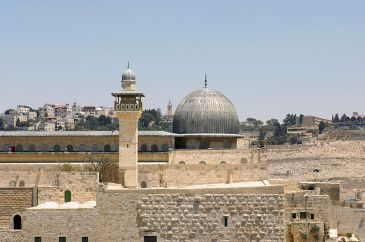 **Al-Aqsa Mosque on the Temple Mount, in the Old City of Jerusalem. | Author: Godot13 | Wikimedia Commons
