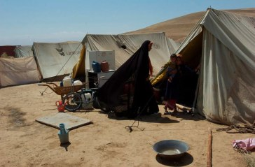 An IDP camp in the northern Afghanistan Province of Balkh. Photo: UNAMA/Eric Kanalstein