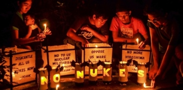 Photo from: International Campaign Against Nuclear Weapons (ICAN).