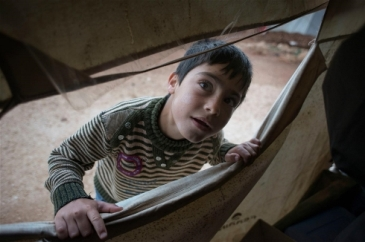 ****Photo: UNICEF | There are over a million Syrians living in Lebanon, including this young child