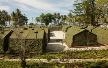 **Photo: DIBP | Australia's offshore processing centre for asylum seekers on Manus Island | Source: IRIN