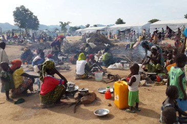 Nigerian refugees at the Minawao camp in Cameroon's Far North region. Fresh fighting has forced thousands to flee to the region. Photo: UNHCR/D. Mbaiorem