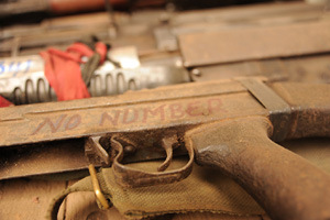 Photo: Guy Oliver/IRIN. There are an estimated 875 million small arms in circulation