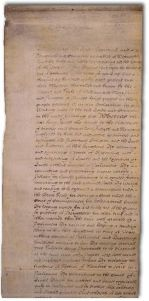 ****Scan or photo of the English Bill of Rights of 1689. | Author: Parliament of the United Kingdom | Public Domain | Wikimedia Commons