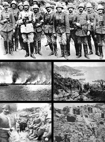 **The Gallipoli Campaign | Author: LoudHmen | Wikimedia Commons (details on bottom)