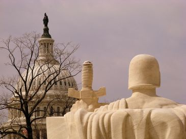 **Image: View of the United States Capitol from the United States Supreme Court building. | Author: debaird | Wikimedia Commons