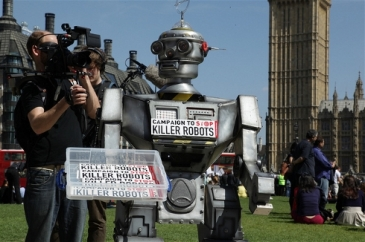 **Photo: Campaign to Stop Killer Robots | The Campaign to Stop Killer Robots has support from a number of British MPs | Source: IRIN