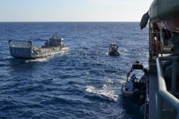 Operation Triton, 2014. [Frontex]    Source: EurActiv