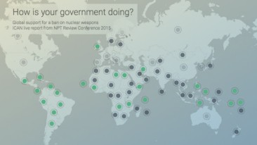 How's your government doing at the NPT RevCon? Follow along with this interactive map from ICAN Austria showing you the best (and worst!) of the NPT Review Conference