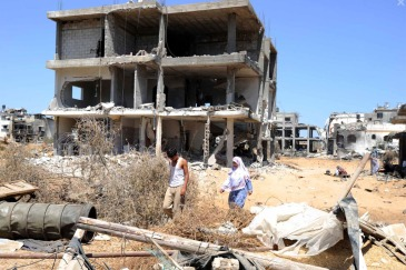 UNRWA says almost eight months after the announcement of the ceasefire, not a single totally destroyed home has been rebuilt in Gaza. Photo: UNRWA Archives