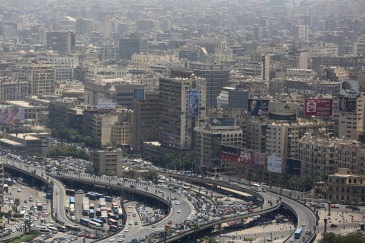 View of City of old Cairo, Egypt, during mid-morning rush hour. Photo: World Bank/Dominic Chavez | Source: UN