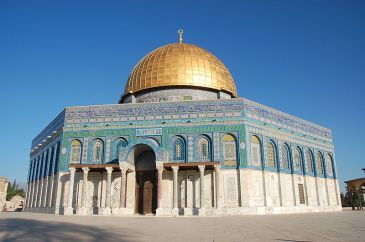**Image: The Dome of the Rock, the world's first great work of Islamic architecture, constructed in 691.| Author: David Baum | Wikimedia Commons