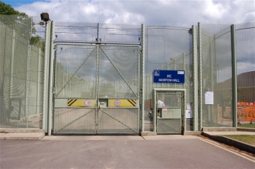 **Photo: UK Home Office | Too tough inside: The inquiry is looking into the need to lock up so many migrants | Source: IRIN
