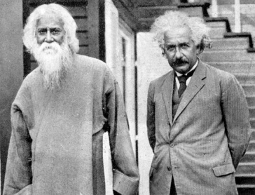 ****Rabindranath Tagore and Albert Einstein in 1930 | Author: UNESCO | Wikimedia Commons