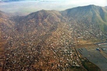 An aerial view of Kabul, Afghanistan. Photo: UNAMA/Ari Gaitanis