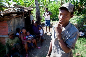 This woman was born in Haiti, but her eight children were born in the Dominican Republic. Tens of thousands of people of Haitian descent born in the DR have had their Dominican citizenship revoked, rendering them stateless and facing deportation. Photo: UNHCR/B. Sokol