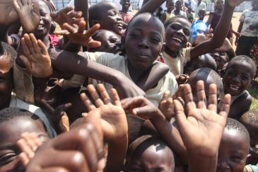 Refugees from Burundi in South Kivu, Democratic Republic of the Congo (DRC). Photo: OCHA/Naomi Frerotte