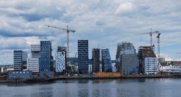 ***Barcode Project, Bjørvika, Oslo, seen from Sørenga, June 2012 | Author: Helge Høifødt | Wikimedia Commons