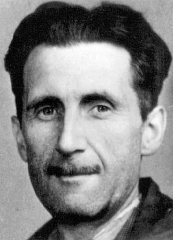*******Picture of George Orwell which appears in an old accreditation for the BNUJ. | Branch of the National Union of Journalists (BNUJ). | public domain | Wikimedia Commons