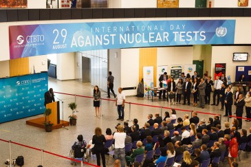 International Day against Nuclear Tests 2014. Photo: Comprehensive Nuclear-Test-Ban Treaty Organization (CTBTO).