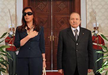 **Photo: Abdelaziz Bouteflika meets the President of Argentina, Cristina Fernández de Kirchner | Algeria, 2008 | Presidencia de la Nación Argentina | Wikimedia Commons