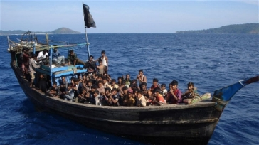 ****Photo: MAPIM | Most of those boarding traffickers' boats are Rohingya trying to escape discrimination and persecution in Myanmar