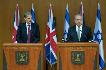 **Netanyahu meets with British Foreign Secretary Philip Hammond, 24 July 2014 | Author: Foreign and Commonwealth Office | Wikimedia Commons