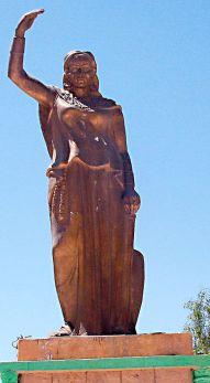 Statue_of_Dyhia_in_Khenchela_(Algeria)