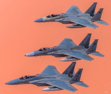 Three_F-15C_Saudi_from_13_Squadron