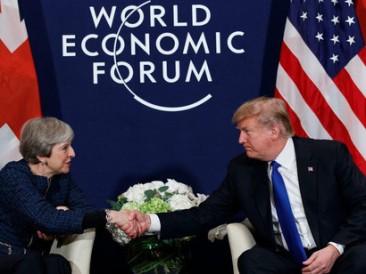 Theresa-May-and-Donald-Trump