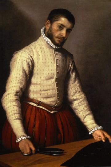 Giovanni-Battista-Moroni-The-Tailor-Il-Tagliapanni-Oil-on-Canvas-1567