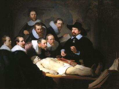 Rembrandt-The-Anatomy-Lesson-of-Dr-Nicolaes-Tulp-Oil-on-Canvas-1632