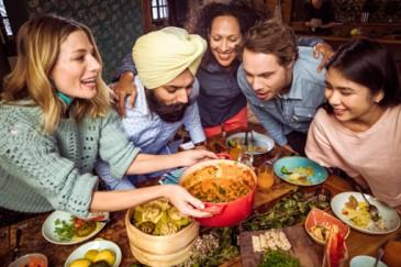 Vegetarian Cuisine Dining in Slovenia