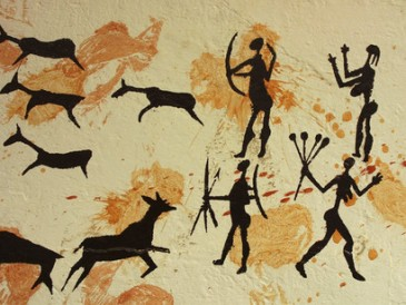 Primitive-cave-painting