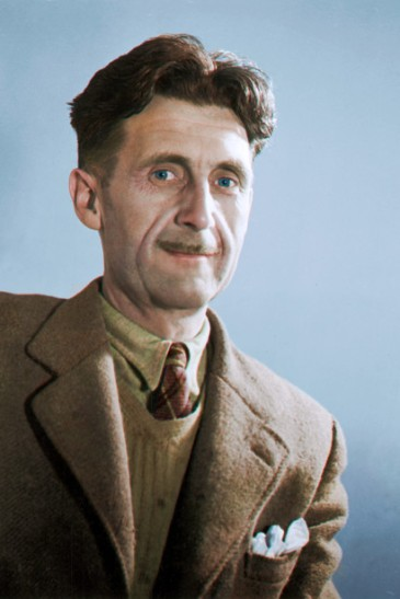 Cassowary-Colorizations-George-Orwell-c-1940
