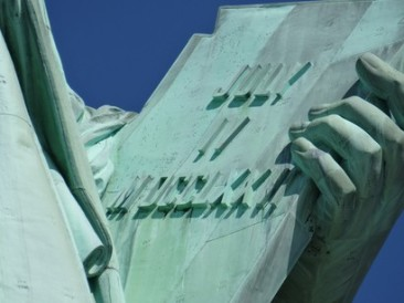 Close-up-of-the-Statue-of-Liberty