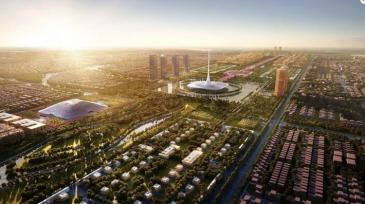 District heating 1 - Amaravati - by Foster and Partners
