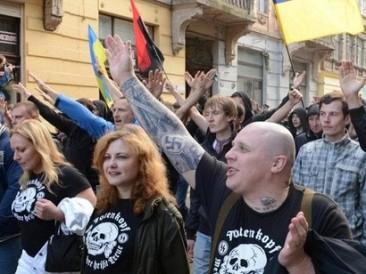 Neo-nazi-demonstration